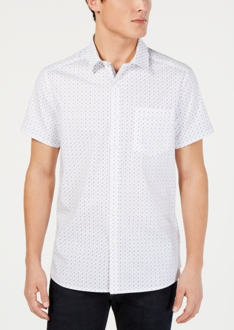 Kenneth Cole New York Men's Geo Print Shirt