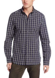 Kenneth Cole New York Men's Heather Check Shirt