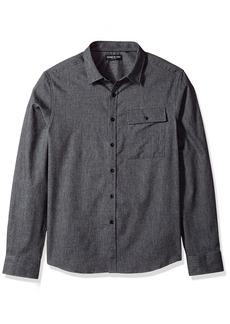 Kenneth Cole New York Men's Herringbone Shirt Jacket
