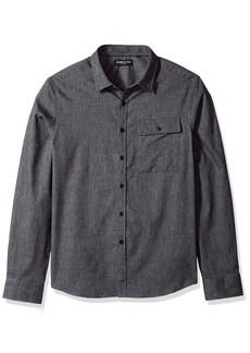 Kenneth Cole New York Men's Herringbone Shirt Jacket