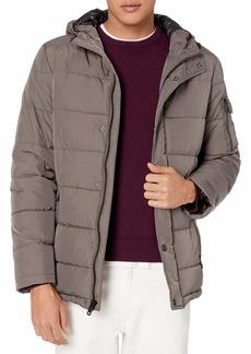 Kenneth Cole New York Men's Hooded Down Alternative Jacket