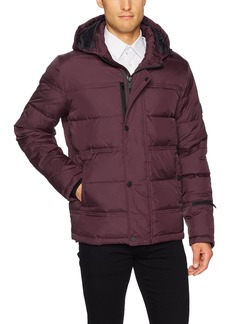 Kenneth Cole New York Men's Hooded Down Jacket