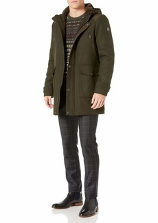 Kenneth Cole New York Men's Hooded Parka Jacket