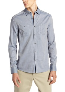 Kenneth Cole New York Men's Iridescent Twill Shirt