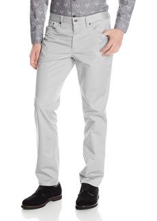 Kenneth Cole New York Men's Kenneth Cole Slim Sateen Five-Pocket Pant  33/30