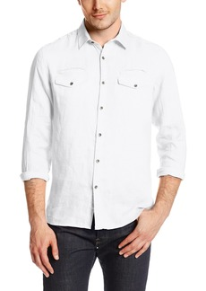 Kenneth Cole New York Men's Linen Shirt