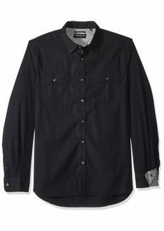 Kenneth Cole New York Dynamic Button Up Shirt in Stretch Cotton