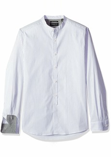 Kenneth Cole New York Men's Long Sleeve Button Down Shirt
