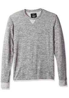 Kenneth Cole New York Men's Long Sleeve Crew Neck Sweater with Pinstripe  S