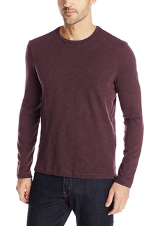 Kenneth Cole New York Men's Long Sleeve Crew with Zipper