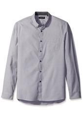 Kenneth Cole New York Men's Long Sleeve End Shirt  L
