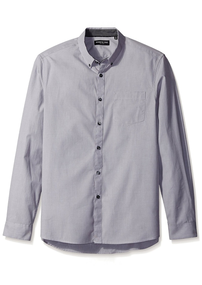 Kenneth Cole New York Men's Long Sleeve End Shirt  L