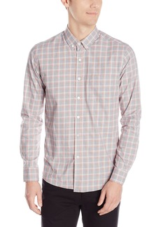 Kenneth Cole New York Men's Long Sleeve Slim Button Down Collar Promo Shirt  XX-Large