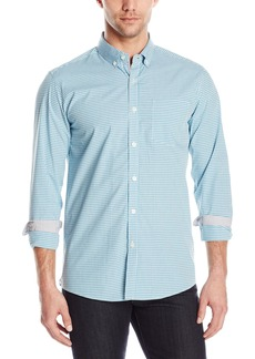 Kenneth Cole New York Men's Long Sleeve Slim Button Down Collar Promo Shirt