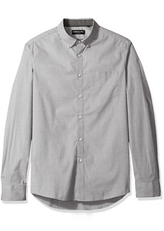 Kenneth Cole New York Men's Long Sleeve Stretch End Shirt
