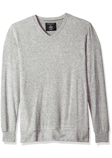 Kenneth Cole New York Men's Long leeve V-Neck lightgrey Heather