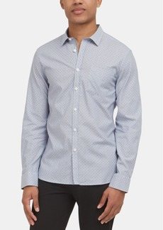 Kenneth Cole New York Men's Micro-Stripe Shirt