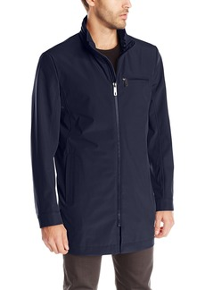 Kenneth Cole New York Men's Mid Length Softshell Coat