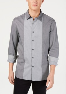 Kenneth Cole New York Men's Mini-Check Shirt