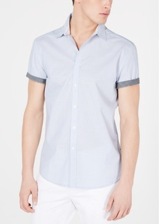 Kenneth Cole New York Men's Mini-Dot Print Shirt