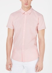 Kenneth Cole New York Men's Mini-Dot Print Shirt