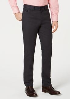 Kenneth Cole New York Men's Mini-Grid Pants