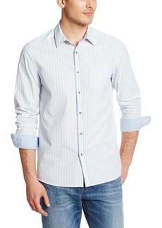 Kenneth Cole New York Men's Novelty Placket Shirt
