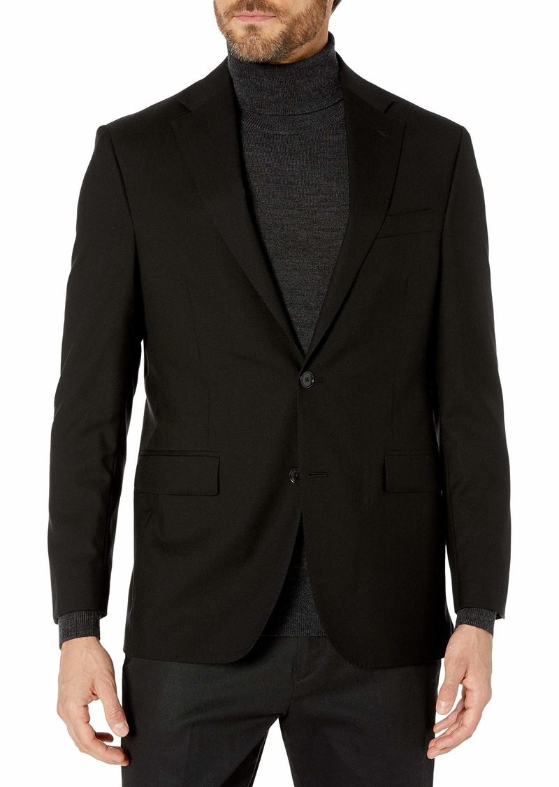 Kenneth Cole New York Men's Performance Stretch Wool Suit Separates-Custom Top and Bottom Size Selection  S
