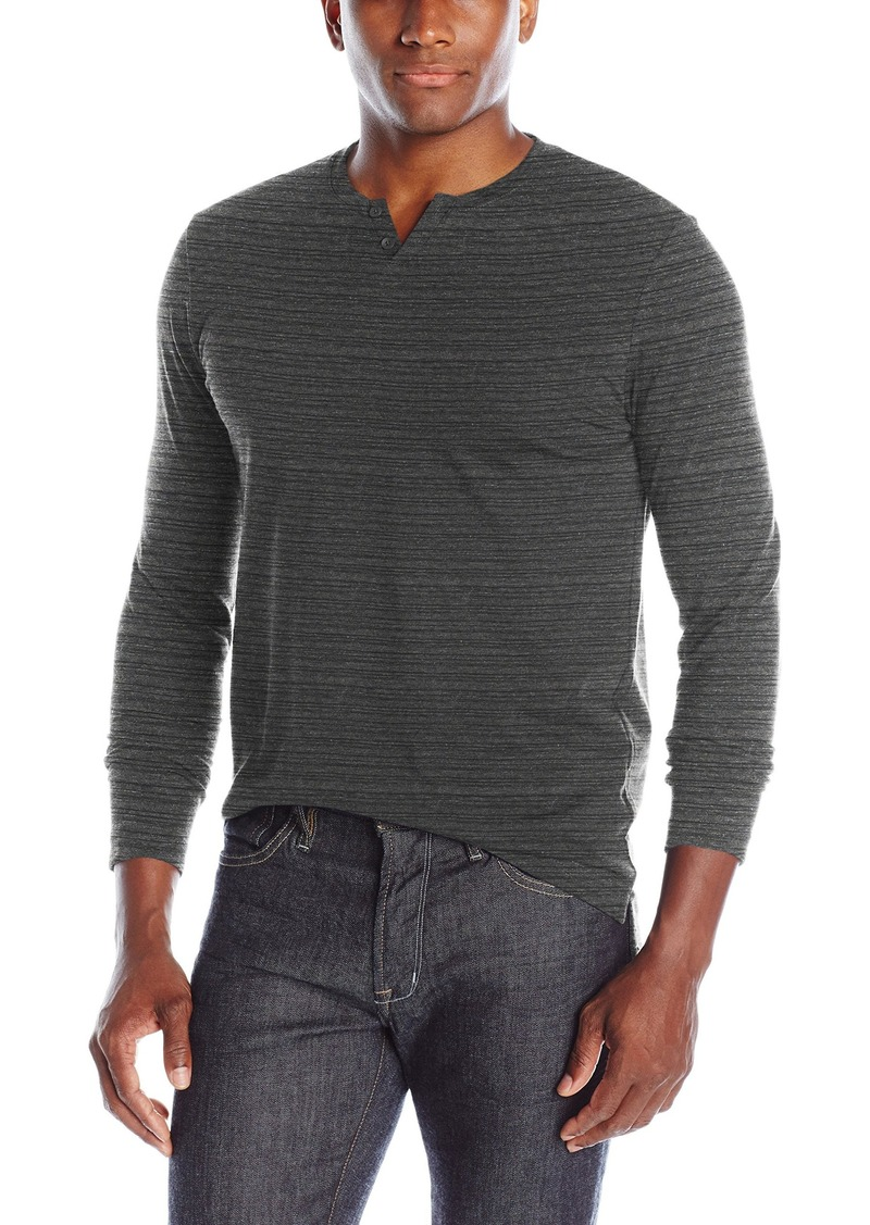 Kenneth Cole New York Men's Plaited Stripe Henley