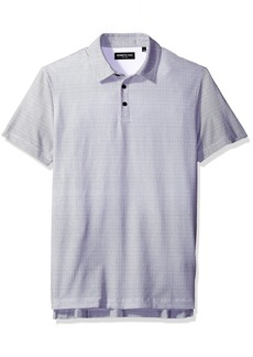Kenneth Cole New York Men's Printed Polo Shirt