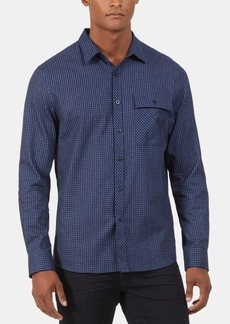 Kenneth Cole New York Men's Regular-Fit Check Shirt Jacket