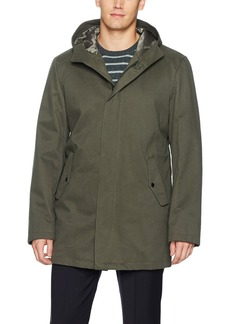 Kenneth Cole New York Men's Rumble Hooded Jacket  MED