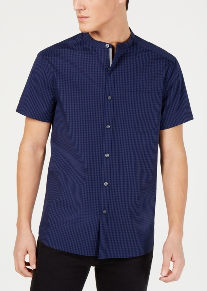 Kenneth Cole New York Men's Saturated Check Shirt