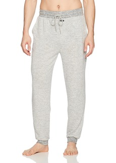 Kenneth Cole New York Men's Seater Pin Stripe Jogger Pant lightgrey Heather S