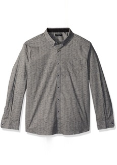 Kenneth Cole New York Men's Shadowbox Print Shirt