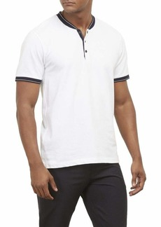 Kenneth Cole New York Men's Short Sleeve Henley Shirt