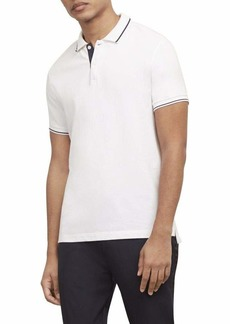 Kenneth Cole New York Men's Short Sleeve Polo