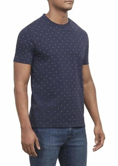 Kenneth Cole New York Men's Short Sleeve Printed Crew Neck Shirt