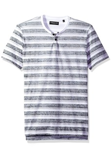 Kenneth Cole New York Men's Short Sleeve Reverse Print Shirt