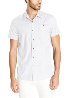Kenneth Cole New York Men's Short Sleeve Ripstop Shirt -   -