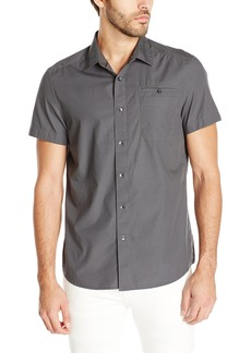 Kenneth Cole New York Men's Short Sleeve Ripstop Shirt -   -