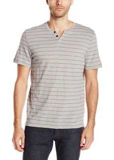 Kenneth Cole New York Men's Short Sleeve Stripe Henley