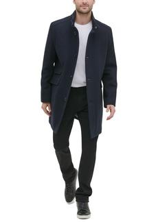 Kenneth Cole New York Men's Single Breasted Twill Walker Jacket