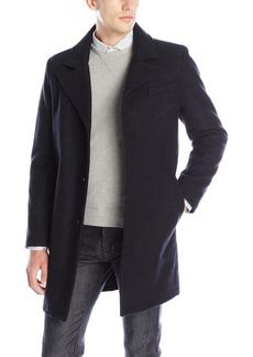 Kenneth Cole New York Men's Single Breasted Wool Walker Coat