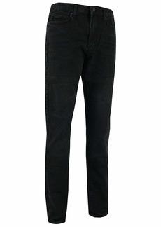 Kenneth Cole New York Men's Slim Fit Five Pocket Jean Black wash 34x30