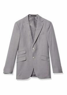 Kenneth Cole New York Men's Slim Fit Suit Separate Jacket Light Grey L