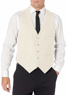 Kenneth Cole New York Men's Slim Fit Suit Separate Vest