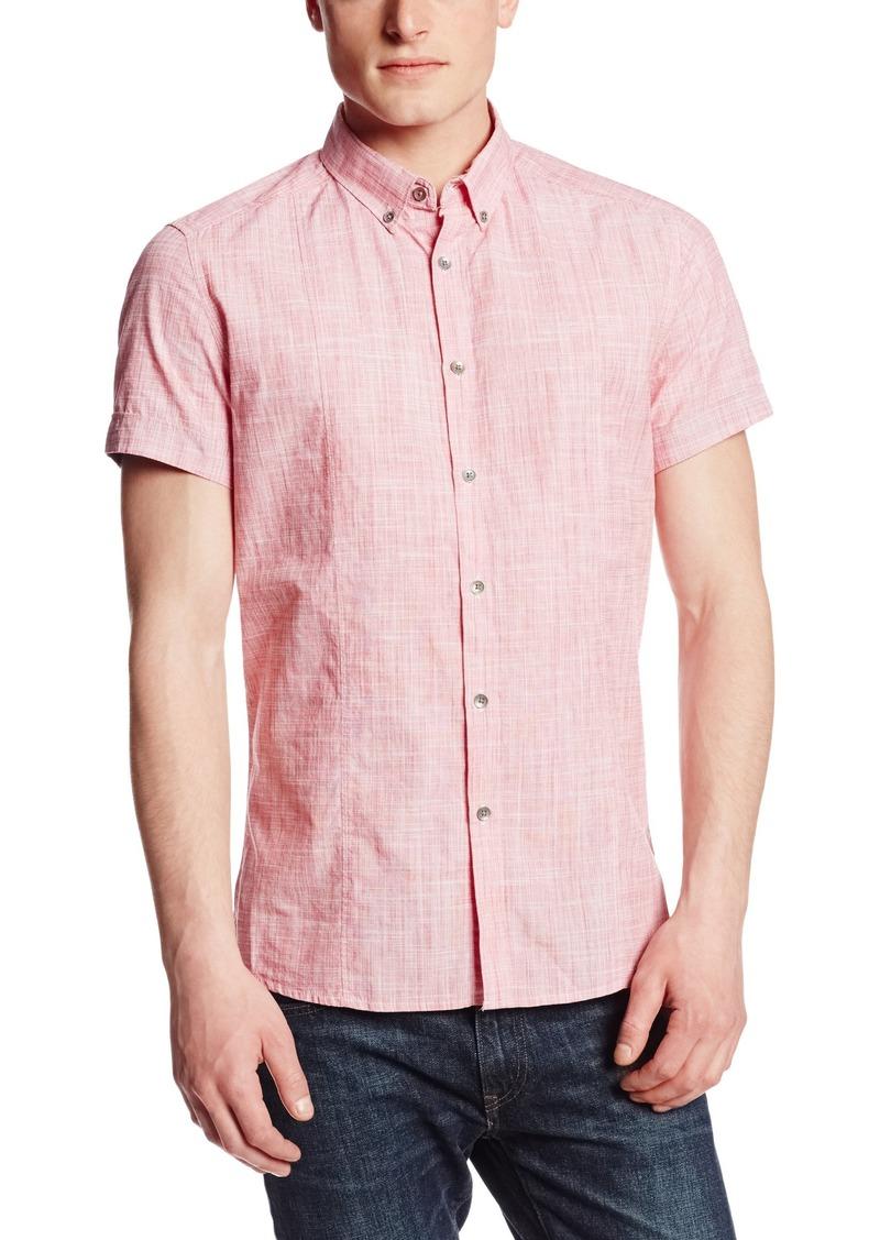 Kenneth Cole New York Men's Slub Shirt