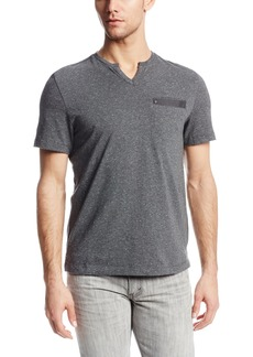 Kenneth Cole New York Men's Speckeled Henley