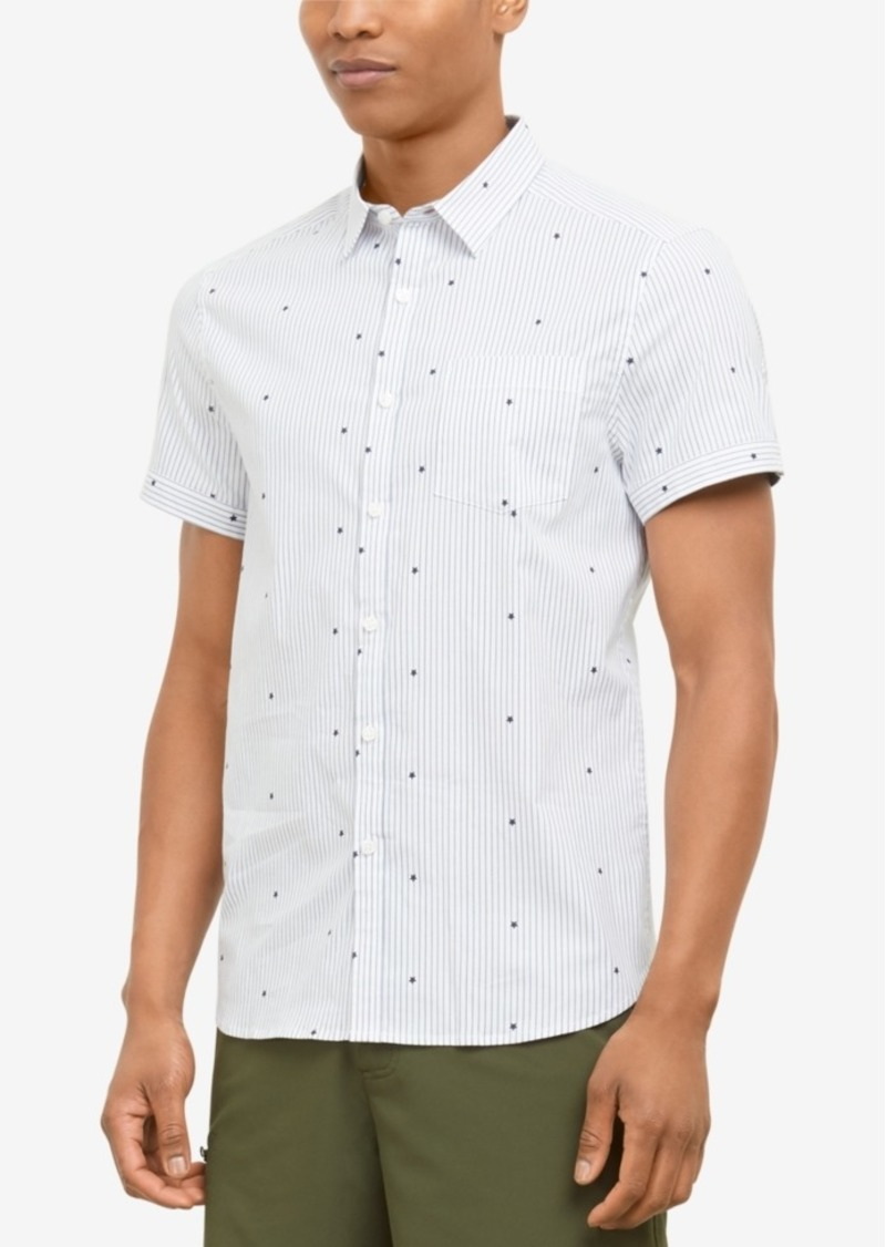 Kenneth Cole New York Men's Stars & Stripes Shirt